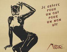 Miss Tic, Catwoman Catwoman, Art En Ligne, Art Graphique, Land Art, Banksy, Oeuvre D'art, Urban Art, Les Oeuvres, Pop Art