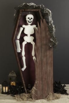 coffin- made from foam