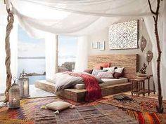 Ehebett Bett 180x200 Massivholz Doppelbett Mango braun Bettgestell NEU STRIPE