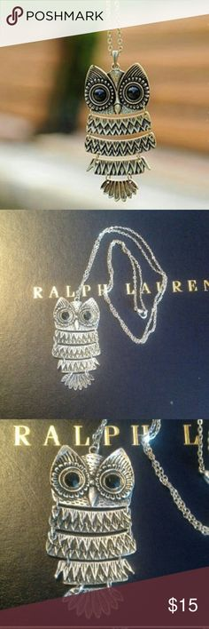 Adorable owl necklace Super cute owl necklace, will go with any outfit. Where my owl lovers at? :-) :-) Jewelry Necklaces