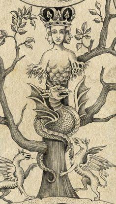Dark Silence In Suburbia — Sveta Dorosheva. The Alchemist
