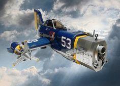LEGO Dieselpunk planes by Jon Hall - Dieselpunks Lego Design, Diesel Punk, Chernobyl, Lego Avion, Legos, Lego Plane, Planes, Sucker Punch, Lego Ship