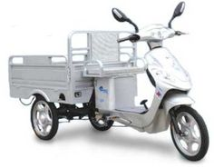 PET Pedal and Go Electric Cargo Bike