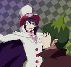 Mephisto and Amaimon by NarutoLover6219 on deviantART