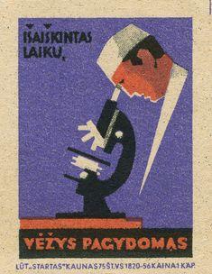 lithuanian matchbox label | by maraid