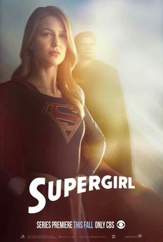 Supergirl (2015) - Melissa Benoist as Supergirl  ®. I like this show, but the only problem I have with it is that the writing isn't too deep and seems to be written for a way much younger audience.