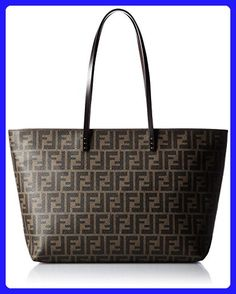 63dbaad3939 FENDI Zucca pattern   Leather Tote Bag zip closure Vertical  H in W 18 in D  in Weight  about Surface  Coated canvas leather Made in Italy