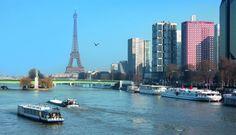 Vue depuis le pont Mirabeau