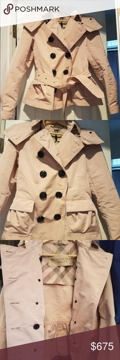 Authentic Burberry rain coat Doesn't fit me so I never wore it. UK size 8 Burberry Jackets & Coats Trench Coats