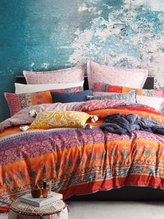 Logan and Mason India Spice Quilt Cover Set