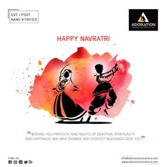 Wishing you fantastic nine nights of devotion, spirituality, and happiness. May MAA shower her choicest blessing over you. Wishing you fantastic nine nights of devotion, spirituality, and happiness. Navratri Greetings, Happy Navratri Wishes, Happy Navratri Images, Chaitra Navratri, Navratri Festival, Navratri Special, Hindu Festivals, Indian Festivals, Navratri Quotes