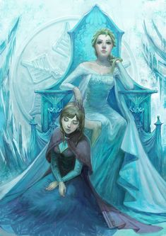 flower elsa fan art - Google Search