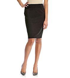 I own this skirt.  Calvin Klein Straight Skirt   Younkers