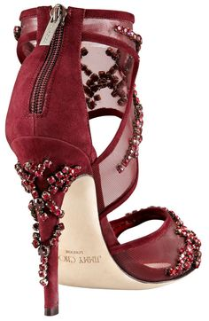 e73d2449792 Jimmy Choo BG 111th Anniversary Crystal-Embroidered Sandal