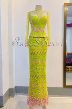 Stunning Isi –Agu Styles For Women - Lab Africa Myanmar Traditional Dress, Traditional Dresses, Aso Ebi Styles, Ankara Styles, African Print Fashion, Africa Fashion, Dress Patterns, Pattern Dress, Elegant Dresses