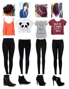 """""""School Pick Up"""" by bsalvinski6364 on Polyvore featuring beauty, Glamorous, Pieces, Oasis, Miss Selfridge, Tabitha Simmons, Ash, Penny Loves Kenny and MICHAEL Michael Kors"""