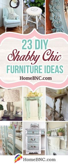 DIY Shabby Chic Furniture Ideas