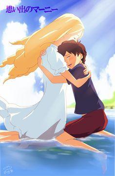 Studio Ghibli:When Marnie Was There-Marnie and Anna