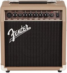 fender guitars The Fender Acoustasonic 15 combo amp offers portable amplification for acoustic-electric guitar and microphone. It's simple and flexible enough for a variety of musical p Fender Stratocaster, Fender Guitar Amps, Gibson Guitars, Bass Guitars, Acoustic Guitar Amp, Fender Acoustic, Guitar Logo, Guitar Tattoo, Gowns