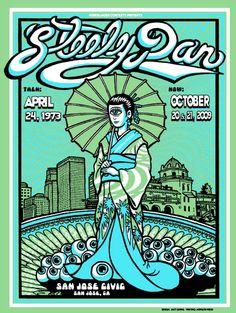 Steely Dan | Concert poster - San Jose Civic