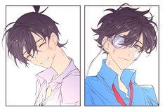 💙하니💙 (@o0o_hang) | Twitter Conan Comics, Detektif Conan, Anime Suggestions, Magic For Kids, Kaito Kuroba, Gosho Aoyama, Kaito Kid, Kudo Shinichi, Magic Kaito