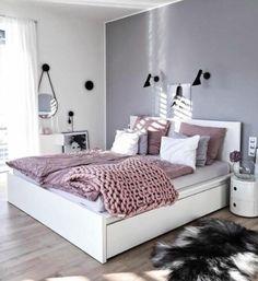 New trend modern Bedroom Design Ideas for 2020 Part 1 ; bedroom design ins Bedroom Photos, Bedroom Themes, Bedroom Sets, Home Bedroom, Bedroom Styles, Bedroom Furniture, Bedroom Girls, Bedroom Ideas Grey, Teen Bedroom Colors