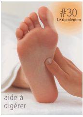 La réflexologie des pieds : Le duodénum : Ce point réflexe aide à digérer