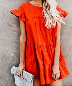 50 new ideas for hair color spring red outfit Spring Summer Fashion, Spring Outfits, Spring Dresses, Mode Outfits, Fashion Outfits, Moda Casual, Look Chic, Mode Style, Mannequins