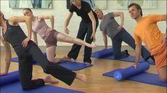 Pilates DVD - Eine Stunde für den Rücken - Übungen Pilates Roller - Auss...
