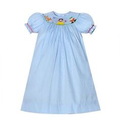 Next Disney Trip! Snow White and Seven Dwarfs - smocked dress