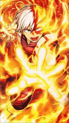 Todoroki Shouto My hero academia My Hero Academia Shouto, My Hero Academia Episodes, Hero Academia Characters, Fanarts Anime, Manga Anime, Anime Art, Animes Wallpapers, Funny Wallpapers, Me Me Me Anime