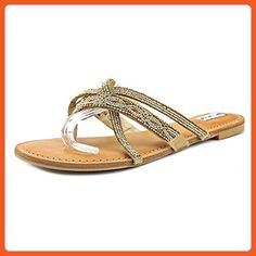 27a7ba782ca Not Rated Tabago Trippin Women US 7.5 Gold Thong Sandal - Sandals for women  ( Amazon Partner-Link)