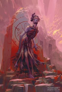 Armaros, Angel of Undoing - 3rd in the series of Watchers. The project's official website: www.angelarium.net