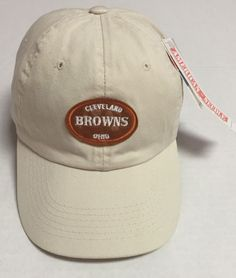 Cleveland Browns Strapback Hat American Needle NFL Football Helmet NWT Ohio OH #AmericanNeedle #ClevelandBrowns