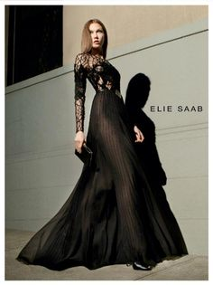 Karlie Kloss for Elie Saab's Fall/Winter 2012/13 Campaign