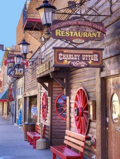 Main Street, Deadwood, South Dakota, USA - I've been here.  It's a very cool town to see!!