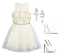 """""""Wedding"""" by lovenut1027 ❤ liked on Polyvore featuring David Charles, Wrapped In Love and Anya Hindmarch"""