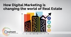 How Digital Marketing is Changing the World of Real Estate - Osumare-Best Digital Marketing Company in Pune Best Digital Marketing Company, Digital Marketing Services, Online Marketing, Real Estate Sales, Real Estate Marketing, How To Make Drawing, Business Planner, Web Design Services, Marketing Techniques