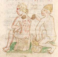 Otto von Passau: Die 24 Alten (Bruchstücke). Cyrillusfabeln, dt. von Ulrich von Pottenstein. Aderlasstraktate. Thomasin von Zerclaere: Der welsche Gast Bayern, um 1457 Cgm 340  Folio 290