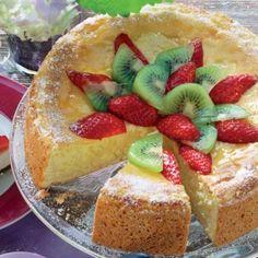 Ľahká tvarohová torta