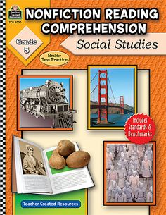Nonfiction Reading Comprehension: Social Studies, Grade 5 (TCR8030) « Products   Teacher Created Resources