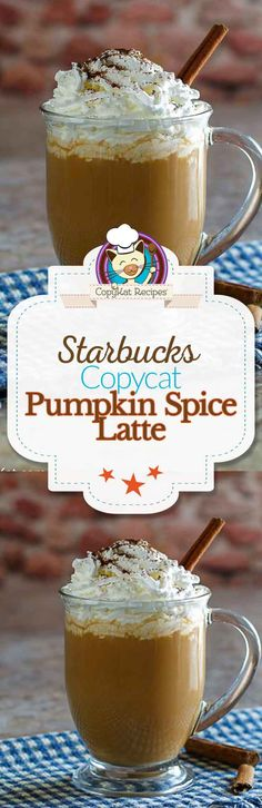 Make your own copycat Starbucks Pumpkin Spice Latte.   You can make one anytime of the year.