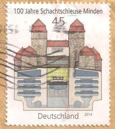 Briefmarke-Europa-Mitteleuropa-Deutschland-45-2014-Minden