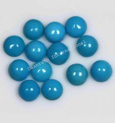 #dashrathinternational Natural Turquoise #Cabochon Round Loose Gemstone Calibrated Size:- 5mm Pieces:- 10 Pieces Lot Price :- $37.99 100% Free Shipping To USA paypal.me/DASHRATHINT/37.99 The finest of turquoise reaches a maximum hardness of just under 6, or slightly more than window glass #turquoise #gemstone #jewellery #naturalgemstone #turquoisegemstone #naturalturquoise #gemstonesupplier #gemstoneshop #bestpricegemstone #stones #worldwide