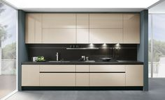 13 Kitchen Cabinets, Kitchen Appliances, Black Kitchens, Modern Kitchens, Double Vanity, Sweet Home, Interior Design, Bathroom, Storage
