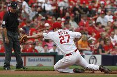 Scott Rolen, one of the best defensive third basemen of all time.