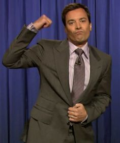 Jimmy Fallon Pictures of His Family Jimmy Fallon Snl, James Fallon, Falling In Love With Him, I Fall In Love, My Love, James Thomas, Fist Pump, Strong Family, Tonight Show