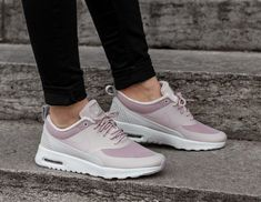 Nike Air Max Thea In Particle Rose Vast Grey