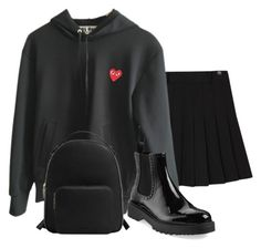 """""""Princess on a very chill day"""" by prvn-cess ❤ liked on Polyvore featuring Comme des Garçons, Prada and MANGO"""