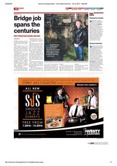 Thank you to Parramatta Advertiser for mentioning me on July 2015 in the 'Fast Lane' section. Marketing Professional, Business Marketing, Smooth Jazz, Growing Your Business, Encouragement, Advertising, Mindfulness, Social Media, Website